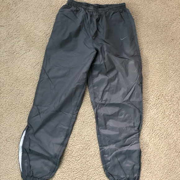 Nike Pants   Lined Nylon Sweat   Poshmark